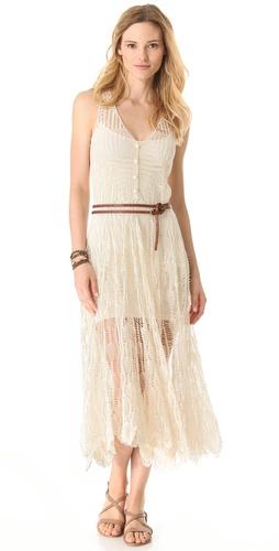 Zimmermann Elixir Crochet Cover Up Dress