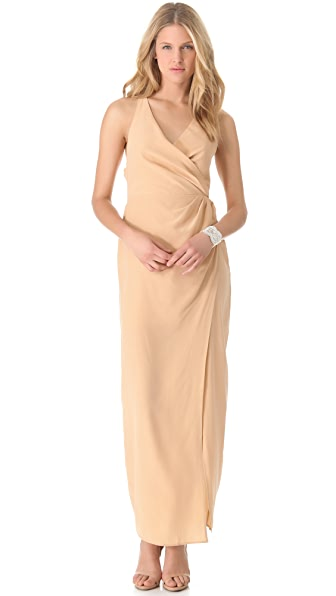 Zimmermann Cross Back Maxi Dress