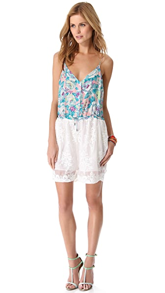 Zimmermann Celestial Embroidered Romper