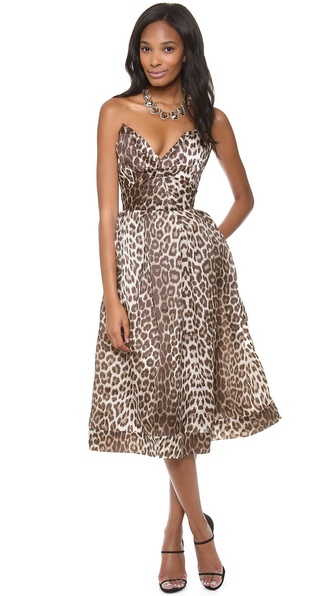 Zimmermann Honour Cats Eye Dress