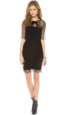 Zimmermann Precocious Lace Twist Dress