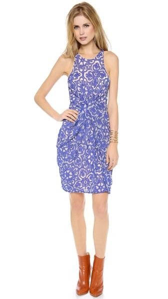 Zimmermann Precocious Applique Knot Dress