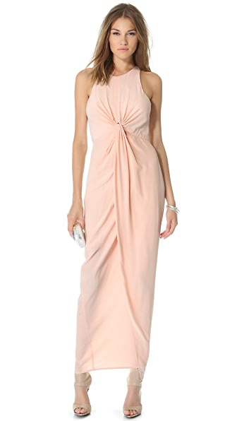 Zimmermann Sleeveless Knot Front Gown