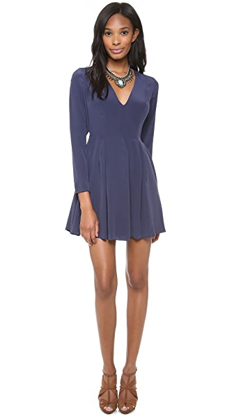 Zimmermann V Neck Knot Dress