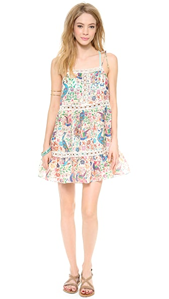 Zimmermann Verano Tiered Cover Up Dress