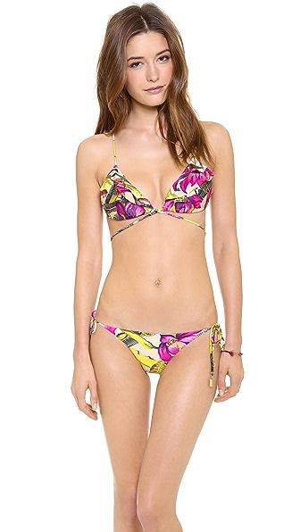 Zimmermann Vivid Wrap Frill Triangle Bikini