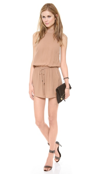 Zimmermann Funnel Neck Romper