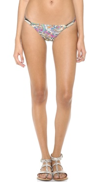 Zimmermann Paisley Low Link Bikini Bottoms