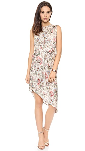 Zimmermann Racer Asymmetrical Draped Dress