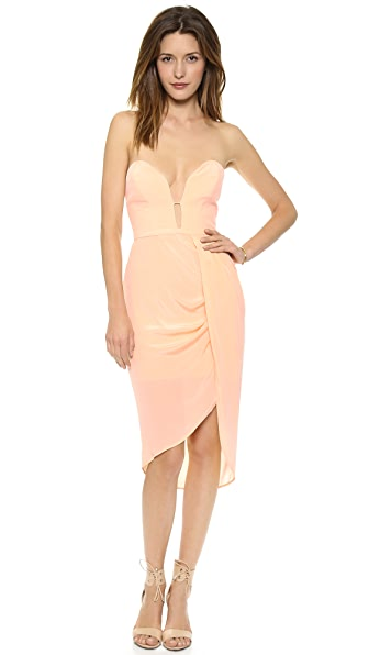 Zimmermann Silk Curve Bar Dress