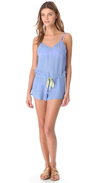 Zinke Beach House Romper