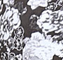 Black & White Floral/Mint