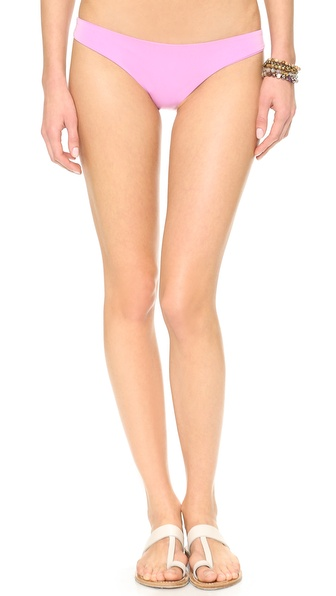 Shop Zinke online and buy Zinke Jeni Bikini Bottoms Pastel Orchid - Low cut Zinke bikini bottoms with invisible seams. Lined. Shell: 91% polyester/9% spandex. Hand wash. Made in the USA. Size & Fit. Available sizes: M,S