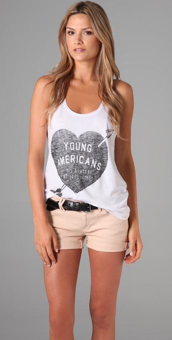 Zoe Karssen Young Americans Tank