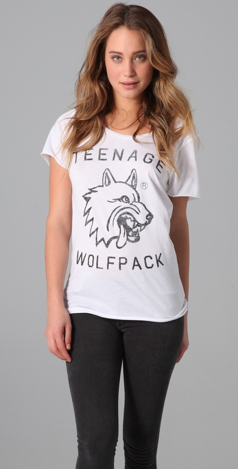 Zoe Karssen Teenage Wolf Pack Tee