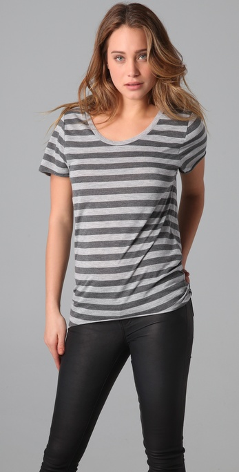 Zoe Karssen Striped Tee