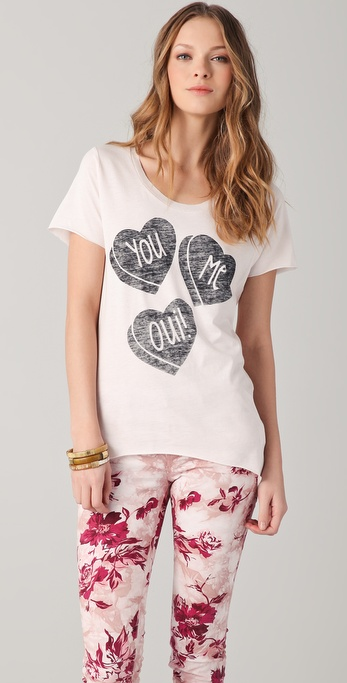 Zoe Karssen You, Me, Oui Tee