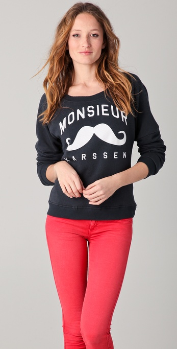 Zoe Karssen Monsieur Sweatshirt