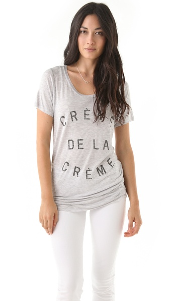 Zoe Karssen Creme De La Creme Tee