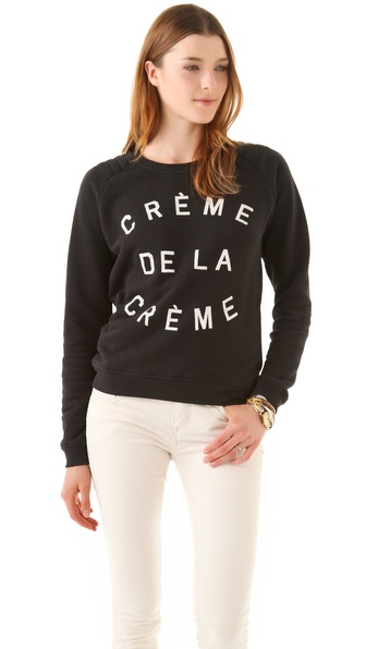 Zoe Karssen Creme De La Creme Sweatshirt
