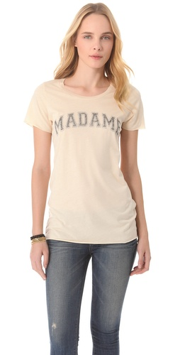 Shop Zoe Karssen Madame Tee and Zoe Karssen online - Apparel,Womens,Tops,Tees,Short_Sleeve, online Store
