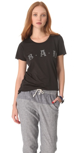 Shop Zoe Karssen Bad Tee and Zoe Karssen online - Apparel,Womens,Tops,Tees,Short_Sleeve, online Store