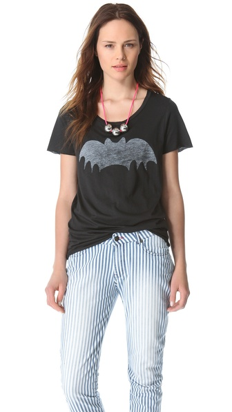 Zoe Karssen Short Sleeve Bat Tee