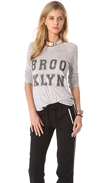 Zoe Karssen Brooklyn Long Sleeve Tee