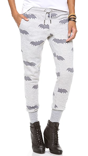 Zoe Karssen Bat All Over Sweatpants