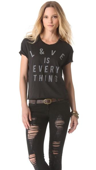 Zoe Karssen Love is Everything Tee