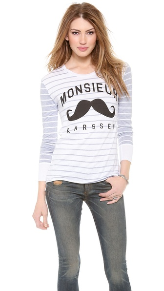 Zoe Karssen Monsieur Karssen Long Sleeve Top