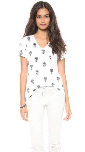 Zoe Karssen Skulls All Over Tee