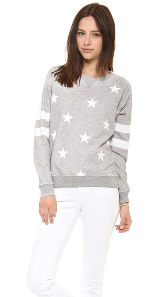 Zoe Karssen Stars All Over Sweatshirt