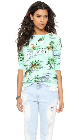 Zoe Karssen Paradise Long Sleeve Top