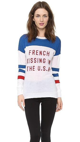 Zoe Karssen French Kissing Sweater
