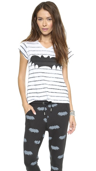 Zoe Karssen Bat Striped Tee