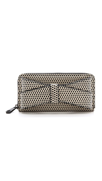 ZAC Zac Posen Shirley Bracelet Zip Around Wallet