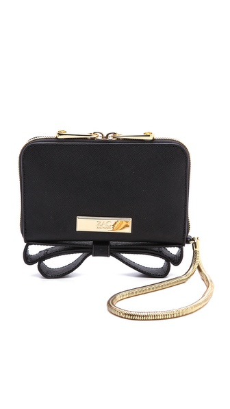 Zac Zac Posen Basic Milla Phone Wristlet - Black at Shopbop / East Dane