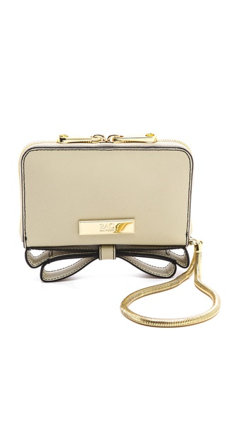 Zac Zac Posen Basic Milla Phone Wristlet - Crema at Shopbop / East Dane