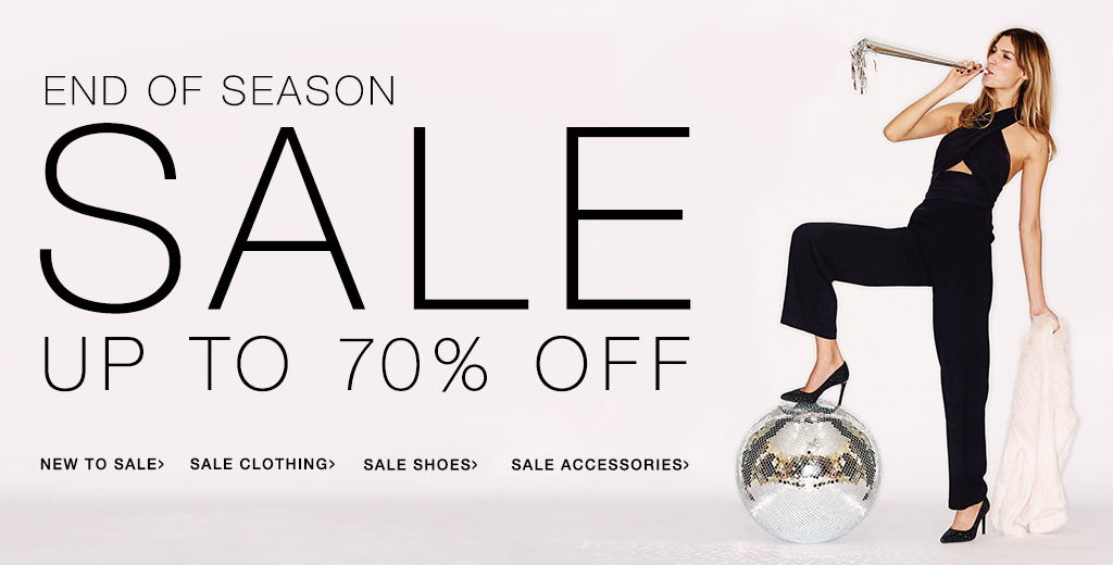End of season sale up to 70% off on clothing, shoes and more accessories + free worldwide delivery for orders over $100 at Shopbop.com
