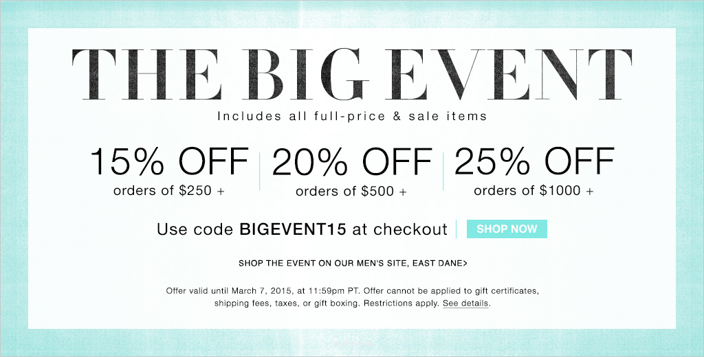 shopbop sale iamge