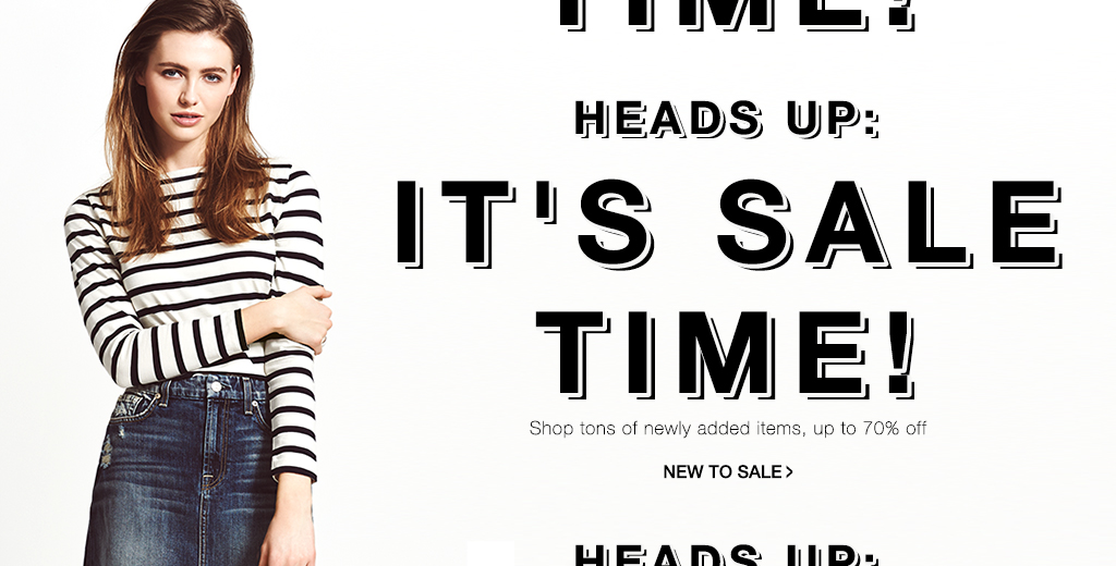 Save up to 70% off 100s of styles + free express shipping to Australia and free international shipping on order 100$ or more at Shopbop.com
