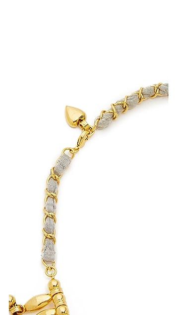 Aurelie Bidermann 心形珠饰围兜项链