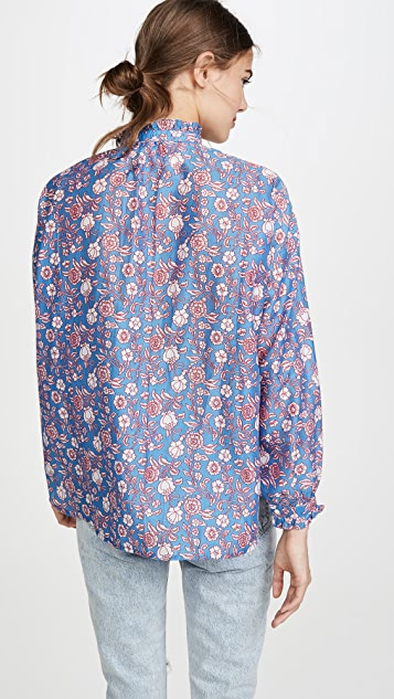 Alix of Bohemia Sonnet Blouse 印花女式衬衫