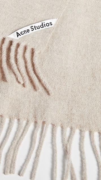Acne Studios Canada 窄围巾