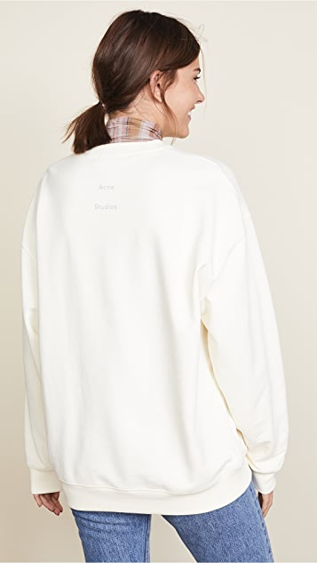 Acne Studios 图案印花运动衫