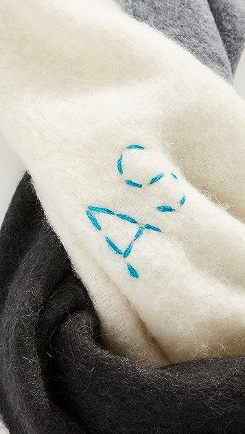 Acne Studios Kelow Dye 围巾