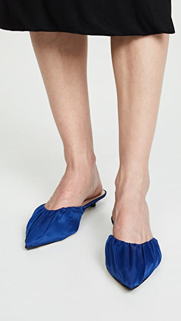 Acne Studios Bea 尼龙穆勒鞋