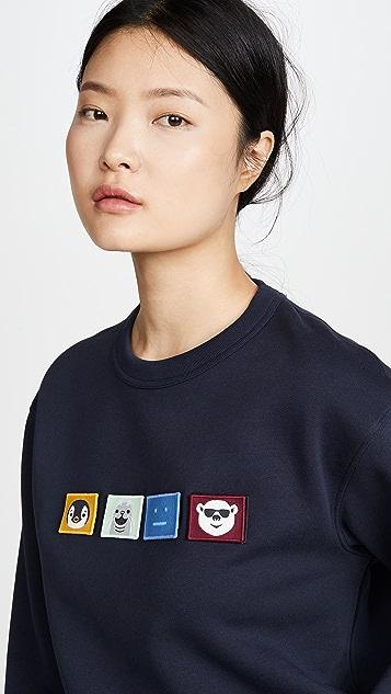 Acne Studios Faircro 动物面孔运动衫