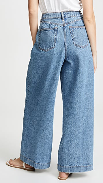 Acne Studios Pakita Blue 长裤